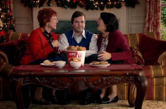 Happy Holidays & Silent Nights from KFC