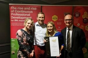 Southpaw Wins IPA CPD Gold Award