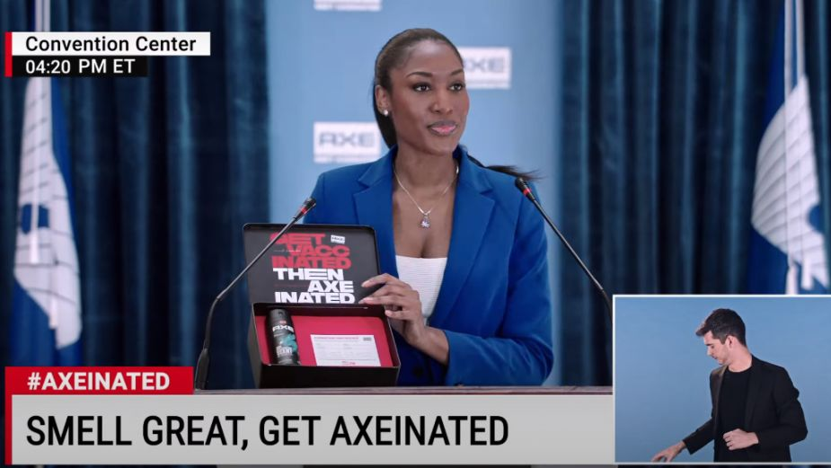 AXE Motivates Guys to Get Vaccinated then 'Get Axeinated' in Campaign from LOLA MullenLowe