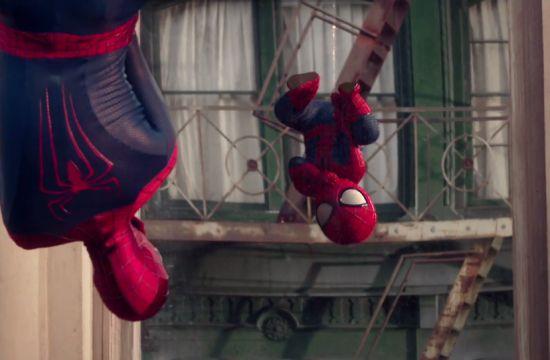 Baby Spider-Man Stars in BETC's Evian Spot