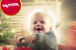 W+K Gets Unpredictable With New Baby Messenger Bot for TK Maxx