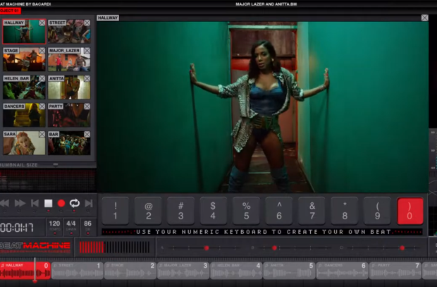 Bacardi Hacks YouTube with the Launch of 'The Beat Machine'