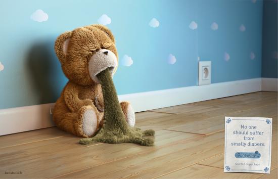 Publicis Creates a Teddy's Worst Nightmare