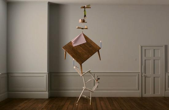 Castello Makes Cheesy Art in 'Balance'