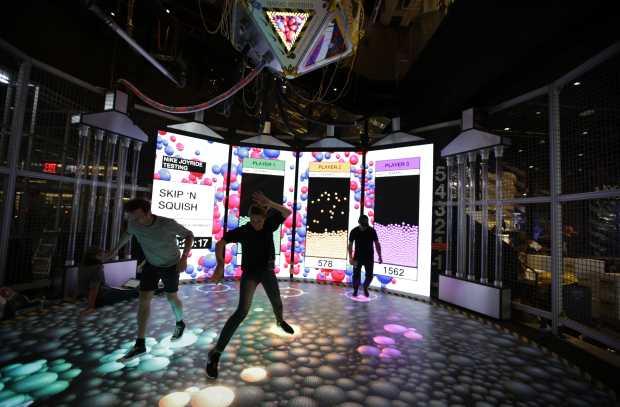 Nike Unveils Giant Immersive Joyride Experience at NYC's House of Innovation