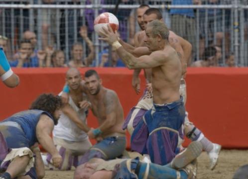 Jonathan Glazer Brings Gladiatorial Brawls & Balls Together for Canon