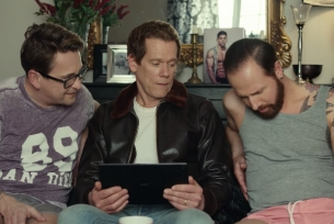 Kevin Bacon Gets Flirty with Gogglebox Stars for EE's New Campaign