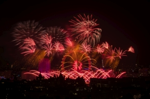 Jack Morton Ends London's New Year's Eve with a Bang