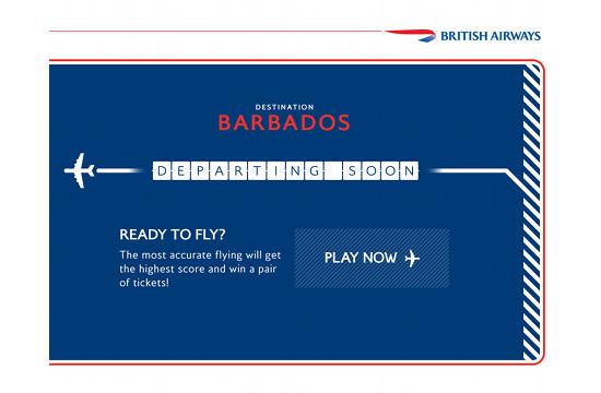 British Airways Great Gatwick Ticket Giveaway