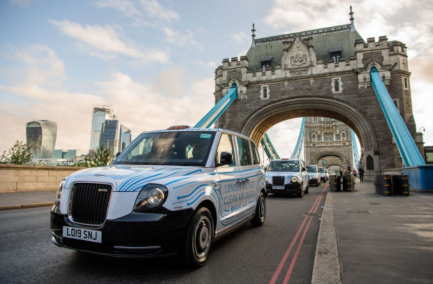 Barclays Launches Air Cabs in London, Offering Air as Clean as the Peak District