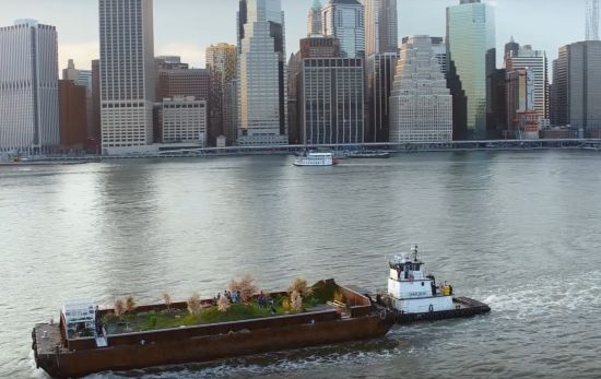 Strongbow's Floating Orchard Sets Sail in New York