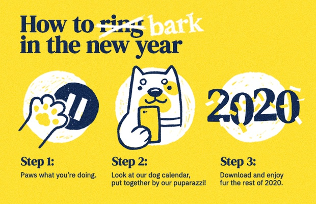 Start Off the New Year on the Right... Paw