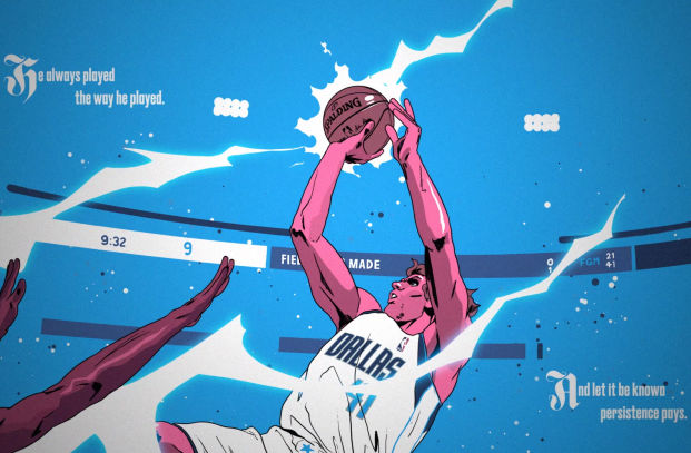 Epic Animated Story Book Celebrates the Career of Basketball Star Dirk Nowitzki