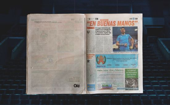 Why One Argentinian Newspaper has 'Retired' Page 20