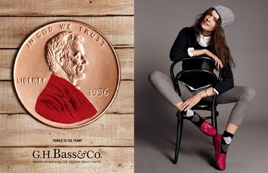 G.H. Bass Brings Back Original Penny Loafer