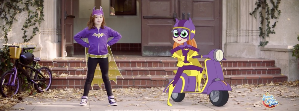 The Woo Agency and Warner Bros. Come Together for Empowering DC Superhero Girls Campaign