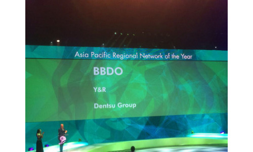 BBDO Named Network of the Year APAC At Cannes