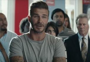 David Beckham Rallies the Town for Deutsch LA's Sprint Wireless Ad
