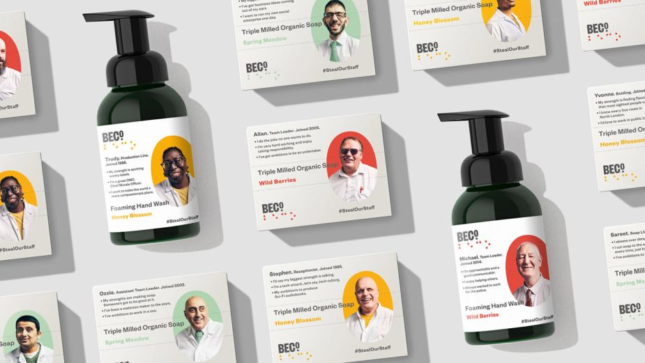TBWA\London Wins Health & Wellness Cannes Lions Grand Prix for BECO's #StealOurStaff Campaign