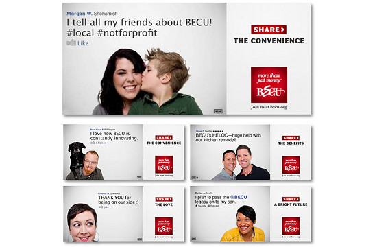 BECU Highlights Positive Social Media