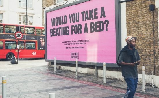 End Youth Homelessness Team Up with WCRS and Jack in Provocative Campaign