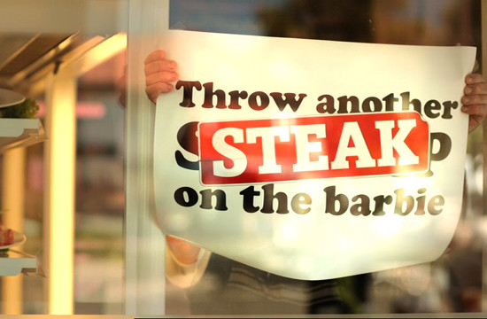 Aussies 'Throw Another STEAK on the Barbie'