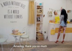 Burt's Bees Stage Vanishing Flower Shop Pop-Up Prank To Help Save British Bees