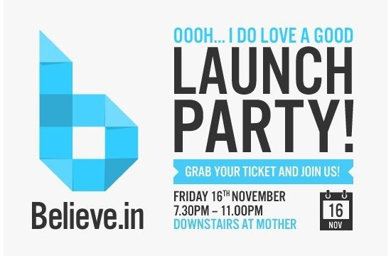 Believe.in to Launch at Internet Week