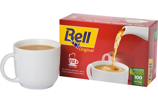 Whybin\TBWA NZ Wins Bell Tea Account