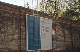 MINI Germany's 'Shortcut Billboards' by Serviceplan Show The Fastest Way Through Berlin