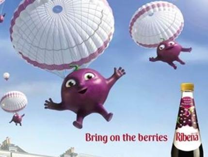 M&C Saatchi London Brings Back the Berries for Ribena