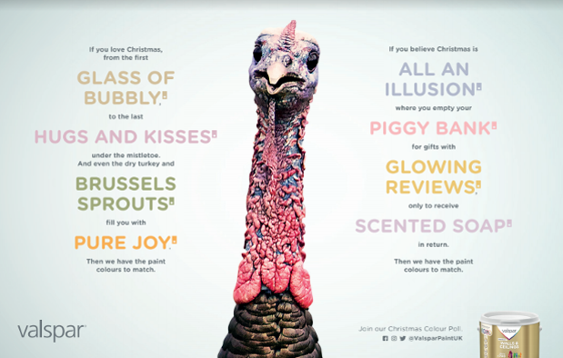 Valspar Paint Polls the Nation for Colourful Christmas Opinions