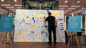 Jelly's Matt Johnstone Illustrates 20 Years of Eurostar