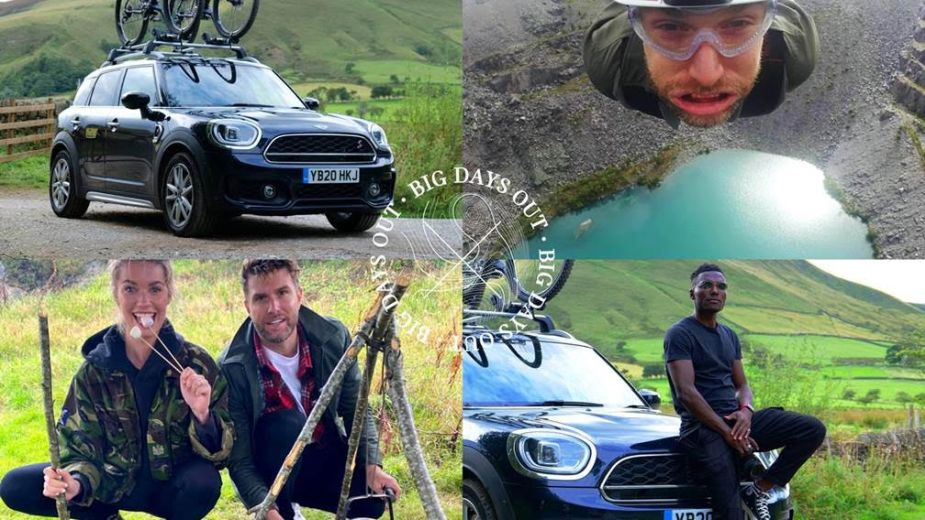 Celebrity Influencers Test Drive Some of the UK's Best Kept Secrets in MINI UK Campaign
