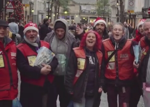 Big Issue Vendors Remix 12 Days of Christmas in Charming New Film
