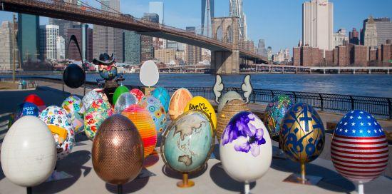 The Elephant Family Charity Sends New York On An Egg Hunt