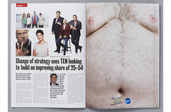 New Print Ad Lets You Remove Its Fatty Love Handles