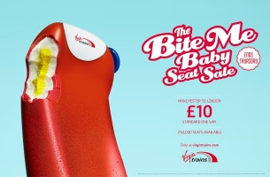 Krow Takes a Bite Out of Summer with New Virgin Trains Campaign