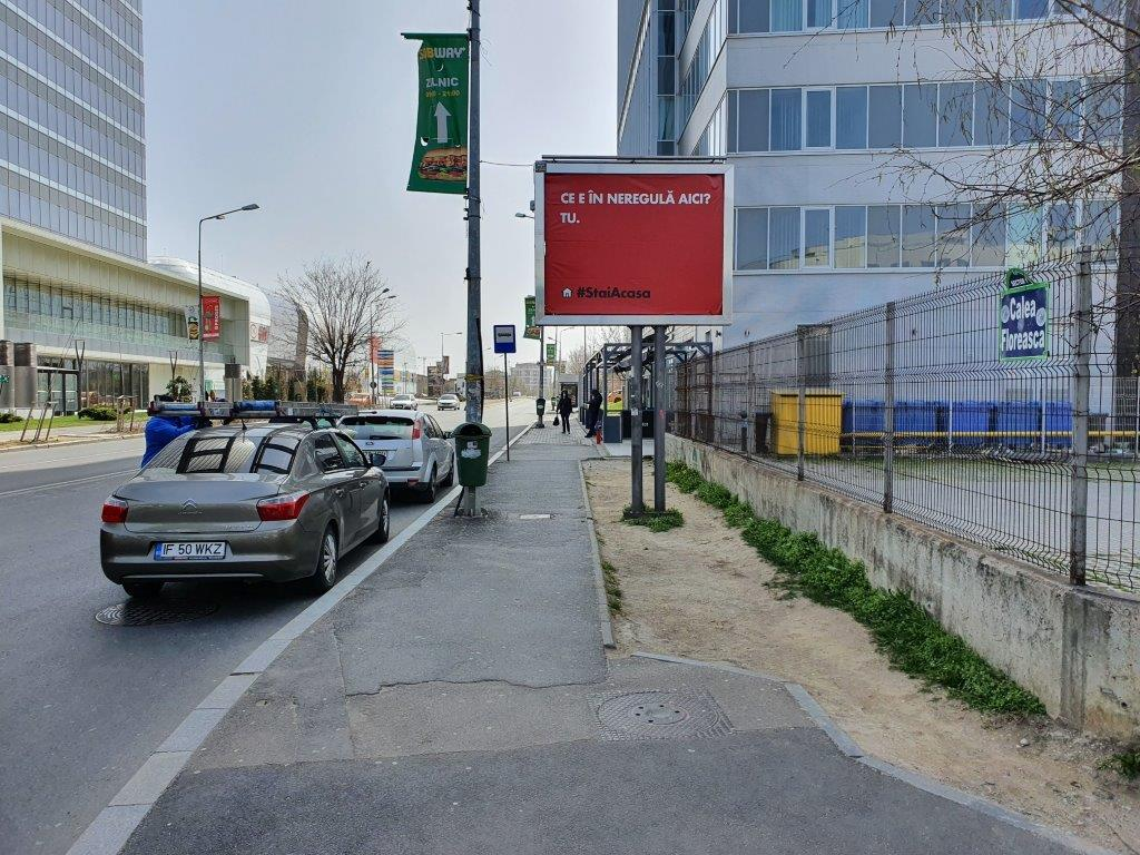 MullenLowe Profero Bucharest and Initiative Create Innovative Billboards to Fight the Crowds