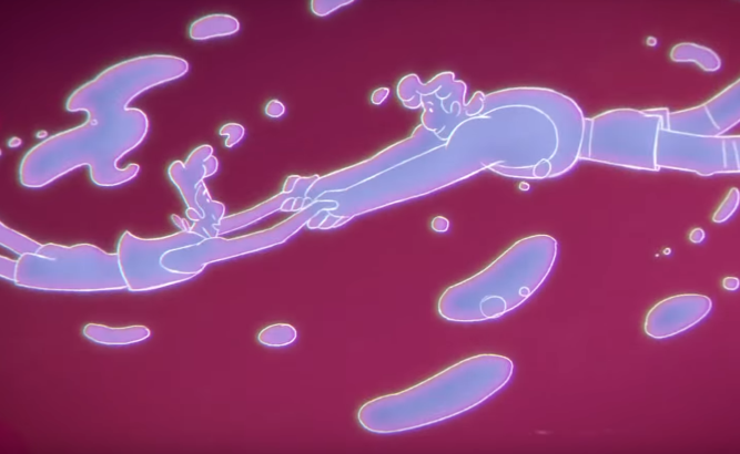 Tribute to Freddie Mercury Tells the Story of Two White Blood Cells in Love