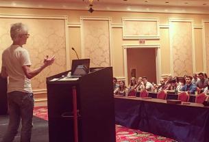 Bob Isherwood Surprises Audience at Creative LIAisons Event