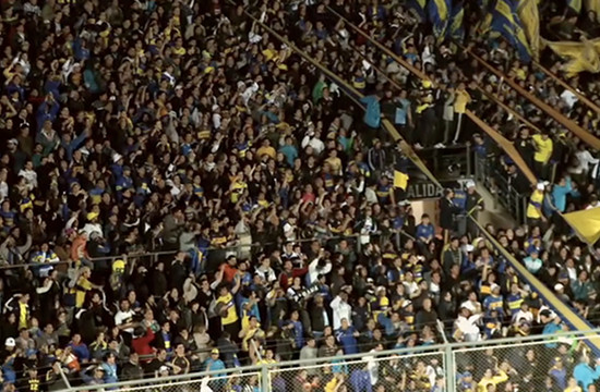 Boca Jrs.' Fans Are Able Shake Any Stadium
