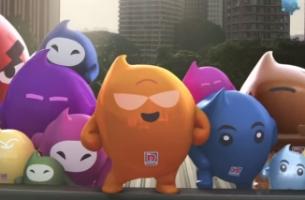 'Blobbies' Come to Life in TBWA\Kuala Lumpur's Nippon Paint Film