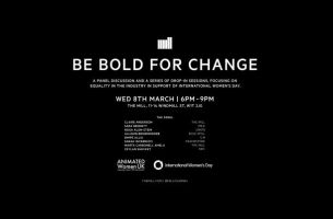 The Mill London Presents 'Be Bold for Change' Panel for IWD 2017