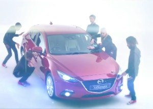 How Mindshare Used 'Mogees' to Make a Mazda3 Musical
