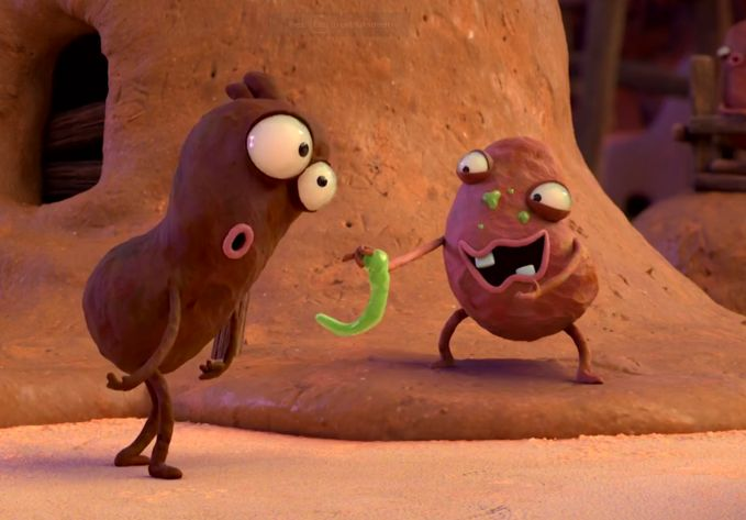NERD's Yibi Hu Digs Deep for Dirt with Gross-out Animation for Nivea Men