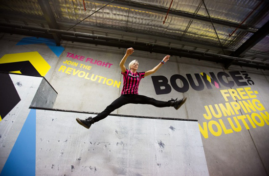 Truly Deeply's Branding for BOUNCE Launches a Revolution