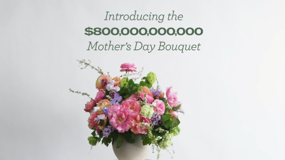 $800,000,000,000 Bouquet Highlights What Mums Really Need This Mother's Day