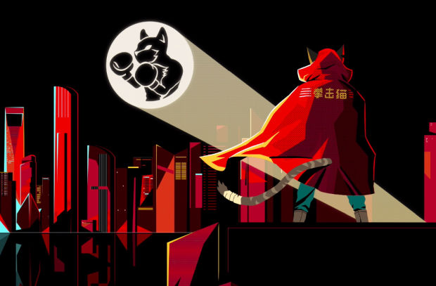 A Boxing Cat Superhero Obliterates Ordinary Beer in Final Frontier's Animated Ad