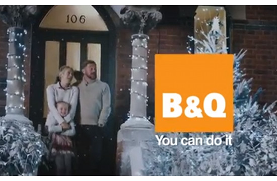 McCann London's B&Q Christmas Campaign